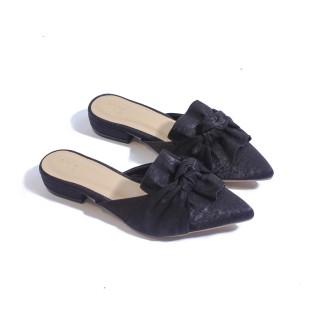 Giày Sục 1cm Nơ Lụa Pixie P160 thumbnail