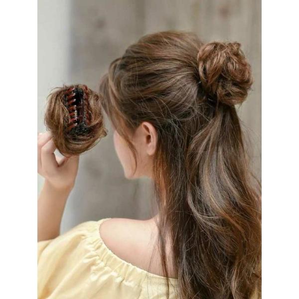 [ hàng hót, bao đẹp ] tóc giả nữ búi gấp mini, tóc bối kẹp, tóc giả nữ nhập khẩu