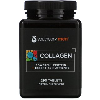 Youtheory, Collagen for Men, 290 Tablets thumbnail