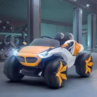 Ô tô xe điện mẫu địa hình khủng XJL 688 đồ chơi vận động cho bé 4 động cơ 12V 7A 2 ghế thumbnail