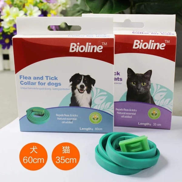 Vòng Cổ Ngăn Ngừa và Ve Rận Bọ Chét Cho CHÓ Mèo THÚ CƯNG Bioline