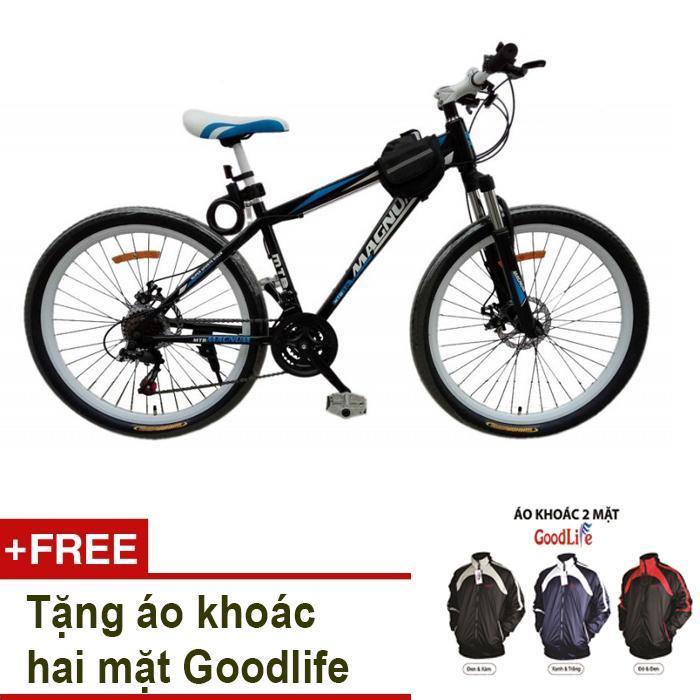 Mua Xe đạp thể thao MK Model A030 + Tặng áo khoác hai mặt Goodlife