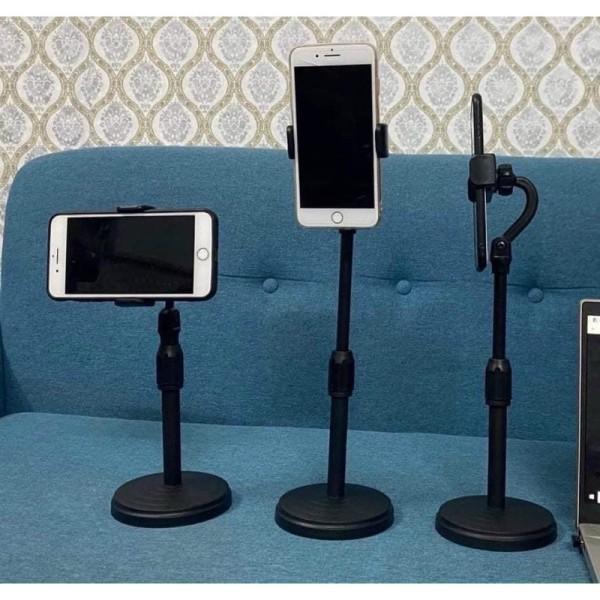 Giá đỡ kẹp đa năng điện thoại đt Livestream, xem Video, kẹp điện thoại xoay 360 độ dùng iphone, , samsung, oppo