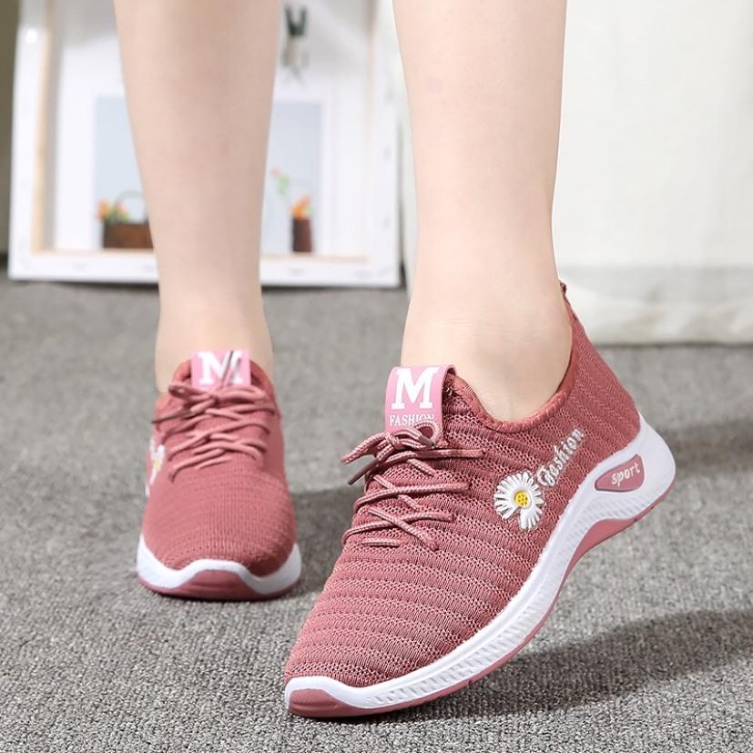 Giày thể thao nữ buộc dây thiết kế thời trang thông thoáng khi hoạt động đi bộ, tập gym , đi chơi giá rẻ