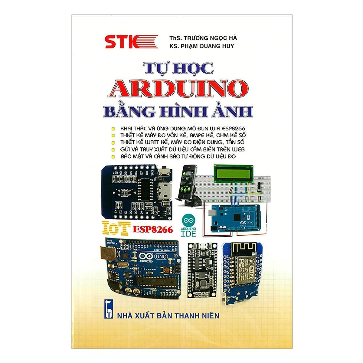 Mua Tự Học Arduino Bằng Hình Ảnh