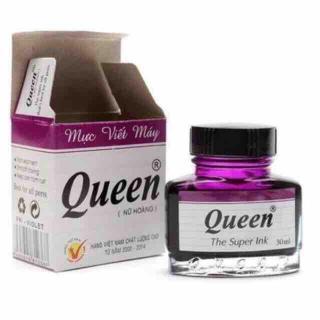 Mực viết máy Queen màu tím, xanh thumbnail