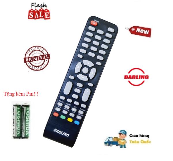 Bảng giá Remote Điều khiển tivi Darling các dòng LED/LCD/Smart TV- Hàng chính hãng Tặng kèm Pin