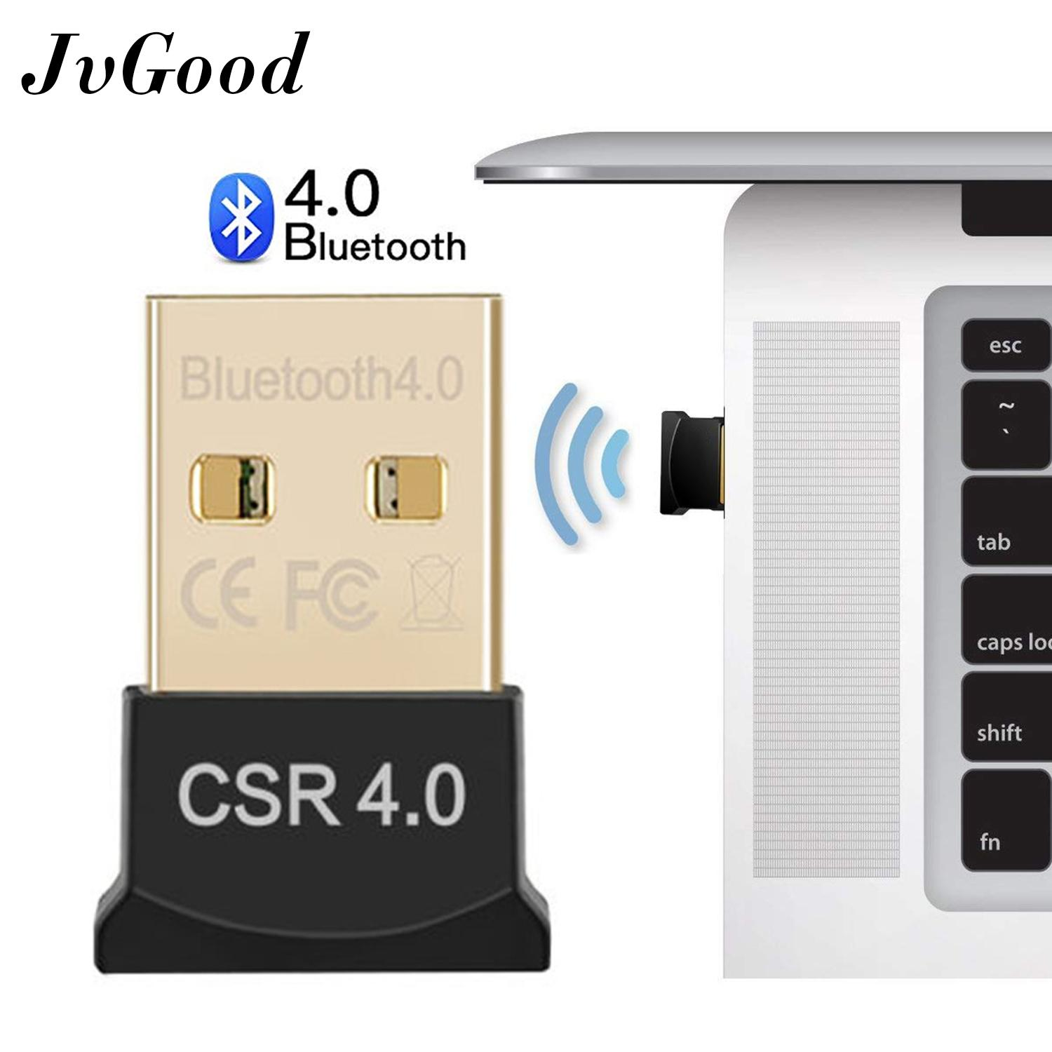 JvGood USB Bluetooth Adapter for PC Wireless Dongle Mini Bluetooth USB Dongle Dual Mode Bluetooth 4.0