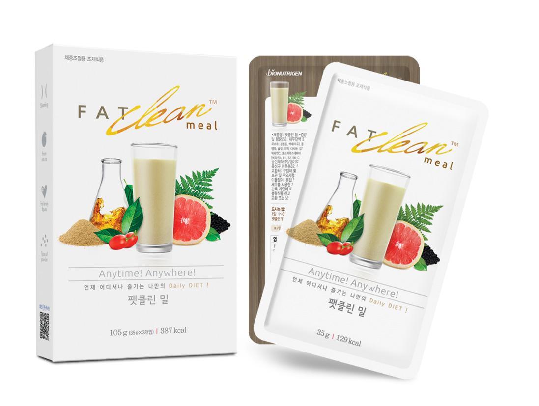 Thức uống hỗ trợ giảm cân Fat Clean 35g Nhật Bản