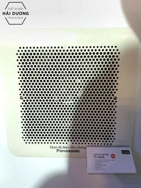 Quạt hút thông gió âm trần Panasonic FV-24CU8 - Khoét lỗ vuông 24cm - Bảo hành 1 năm