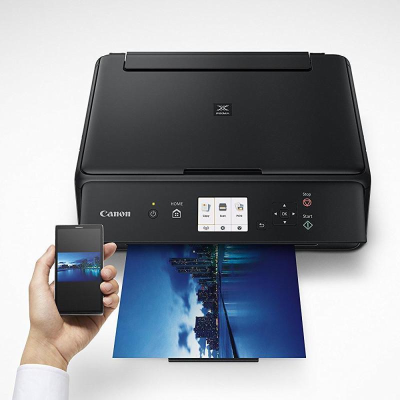 Canon TS5020, wifi , in màu scan photo, máy đã kèm mực in sử dụng ngay