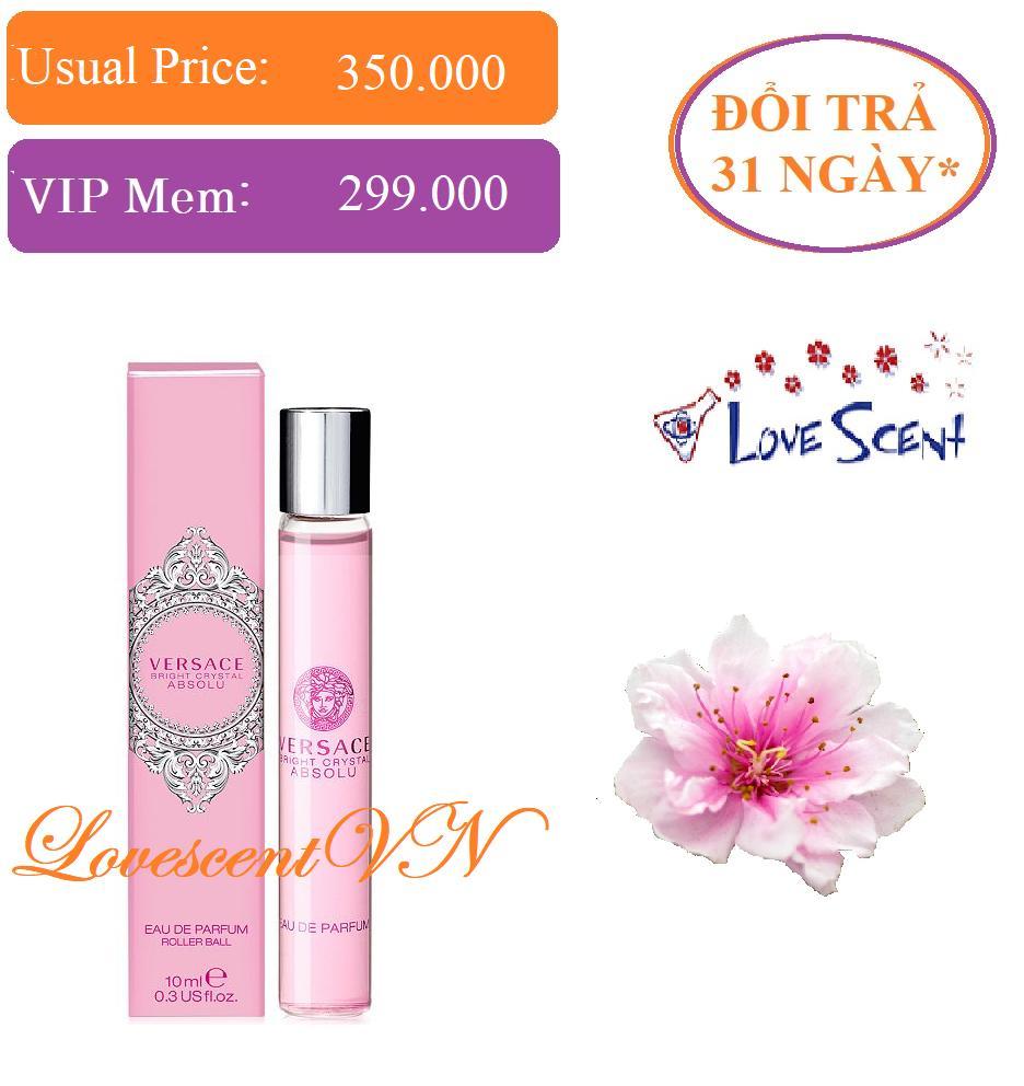 Nước hoa cao cấp Vercase Bright Crystal Abbsolu EDP 10ml - Đổi trả 31 ngày