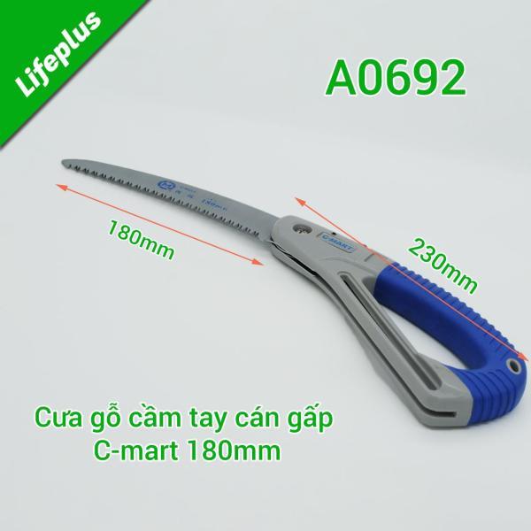 Cưa cành cây gấp gọn 180mm C-Mart Tools A0692 Đài Loan