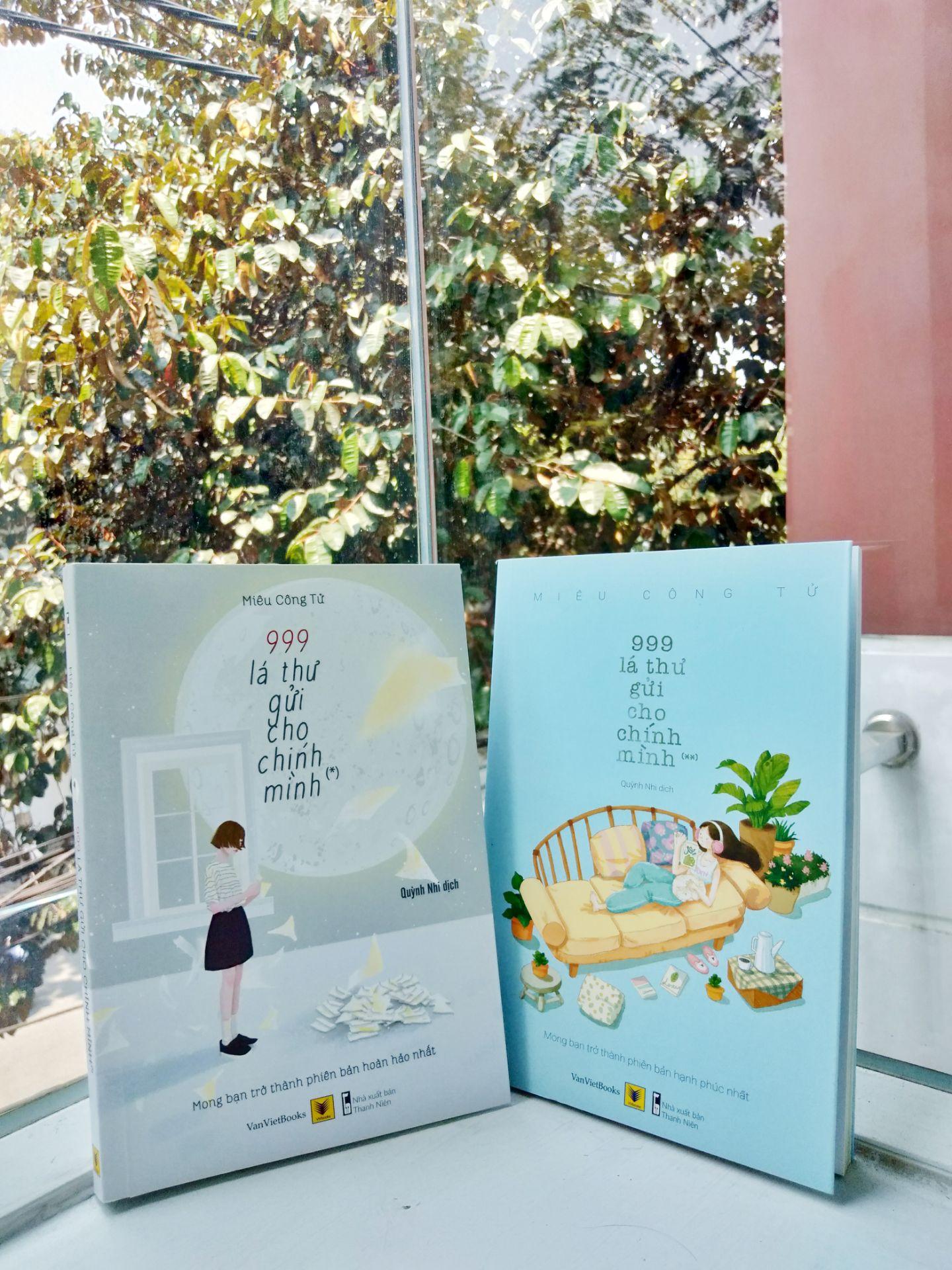 Deal Ưu Đãi Combo 999 Lá Thư Gửi Cho Chính Mình - Tặng Kèm Bookmark (Trọn Bộ 2 Tập)