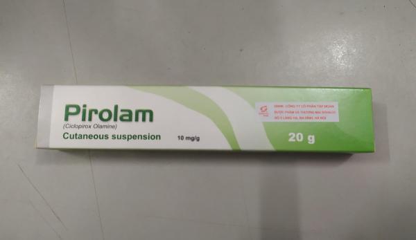 Pirolam hỗn dịch bôi nấm