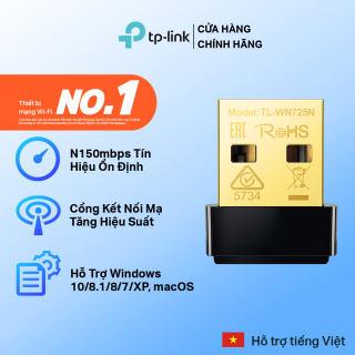 Bộ Chuyển Đổi USB Wifi TP-Link TL-WN725N Chuẩn N 150Mbps