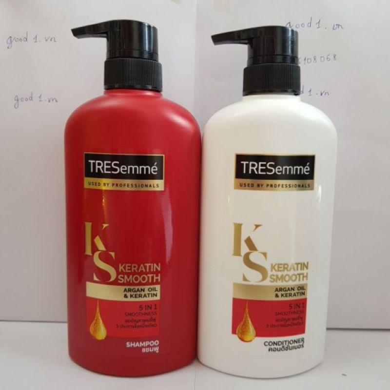 Dầu gội , xả Tresemme Keratin Smooth 450ml chính hãng Thái Lan giá rẻ