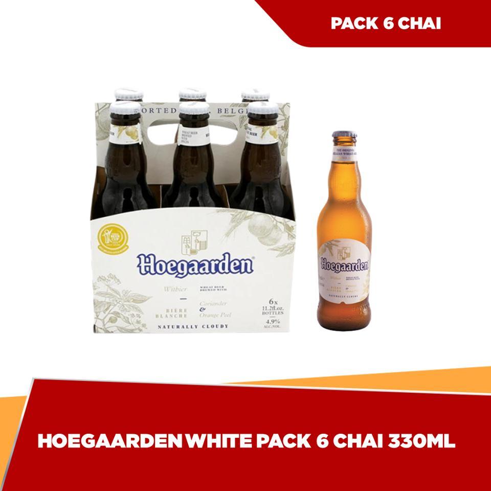 Voucher Khuyến Mãi Hoegaarden Chai 330ml - Pack 6