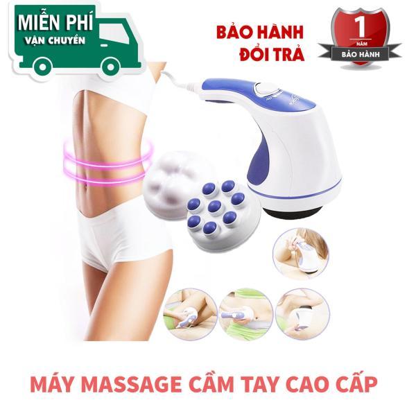 Máy Đánh Mỡ Bụng Máy Mát Xa Toàn Thân Máy Massage Cầm Tay Relax & Spin Tone-A781 Đánh Tan Mỡ Thừa Cải Thiện Vóc Dáng Giúp Thân Hình Trở Nên Quyến Rũ - Bảo Hành 1 Năm Trên Hệ Thống SMN Toàn Quốc Tmark