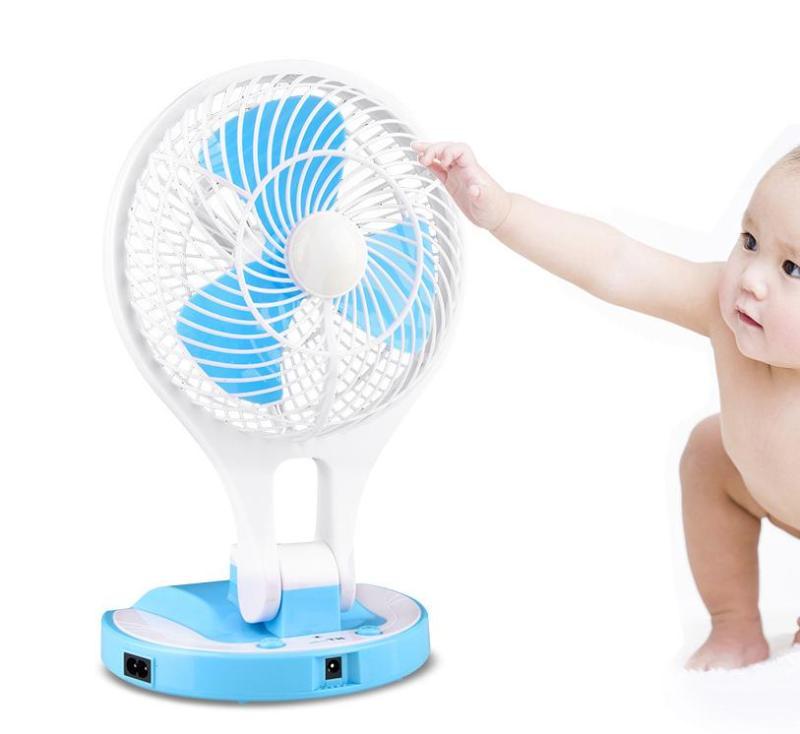 (SALE OFF 3 NGÀY) Quạt Sạc Tích Điện Mini Fan JR5580
