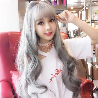 Tóc giả nữ Hàn Quốc + Tặng kèm lưới T170 thumbnail