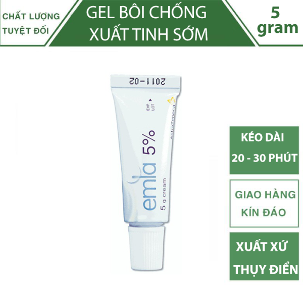 Gel Chống Xuất Tinh Sớm Emla Cream 5% nhập khẩu