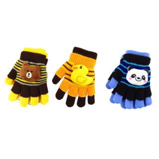Găng tay len 2 trong 1 hình thú cực cute cực ấm cho bé