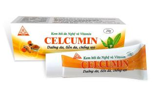 Kem nghệ dưỡng da liền sẹo Celcumin - nghệ nano thumbnail
