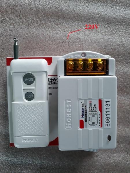 Công tắc remote điều khiển từ xa 1000 mét HT-6805WD 30A - 220V điều khiển máy bơm và thiết bị điện từ xa-CÓ CHỨC NĂNG HỌC LỆNH(KHÁCH LƯU Ý KHI ĐẶT HÀNG CHỌN : NGUYÊN BỘ, ĐIỀU KHIỂN RỜI HOẶC BỘ NHẬN TÍN HIỆU NHƯ SP NHƯ Ý Ạ)