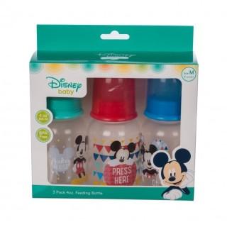 (Made in Thailand) Bộ 3 bình sữa cổ hẹp (cổ thường) 125ml Disney Baby DN1611 thumbnail