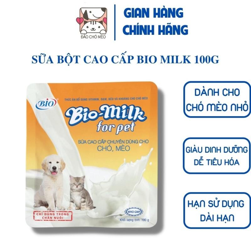 Sữa cho chó mèo Bio Milk For Pet - Đảo Chó Mèo