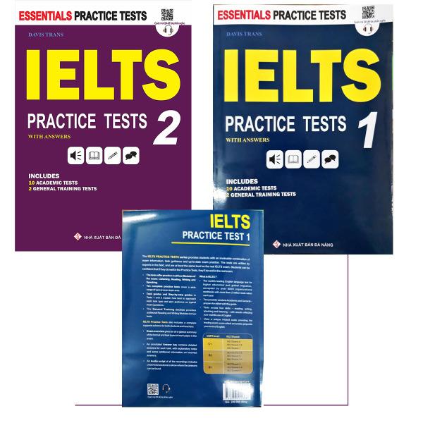 [HCM]Bộ 2 quyển IELTSPractice Tests 1 và 2