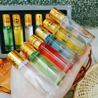 Combo Hộp nước hoa tháp 6 chai, nước hoa dạng lăn thơm cực lâu, hương thơm 6 mùi khác nhau cho bạn thỏa sức lựa chọn cả nam lẫn nữ thumbnail
