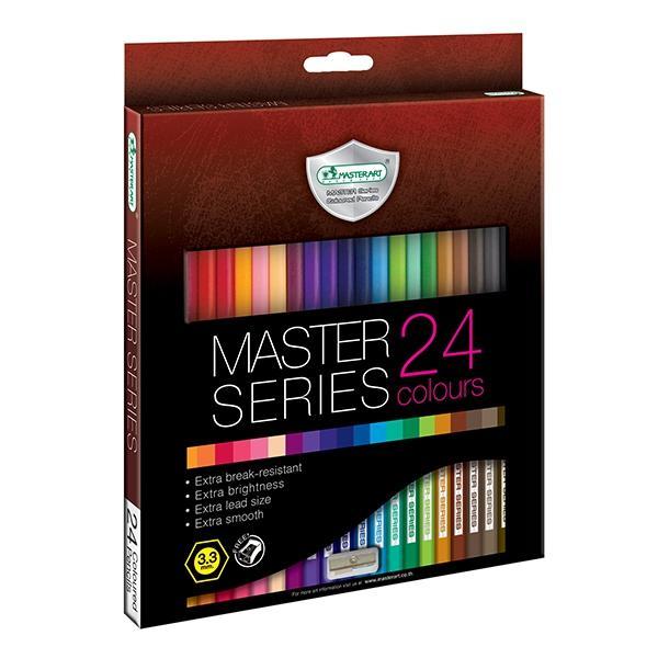 Mua Bộ bút chì màu cao cấp Master Art Series 24 màu (Thái Lan)