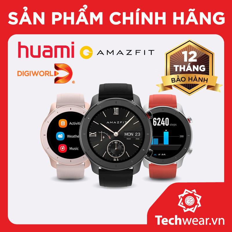 Đồng Hồ Xiaomi Huami Amazfit GTR 42mm Bản Quốc Tế Chính Hãng Digiworld