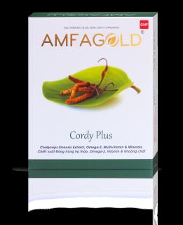 Viên uống hỗ trợ tăng sức đề kháng Đông Trùng Hạ Thảo Cordyceps Sinensis AMFAGOLD CORDY PLUS thumbnail