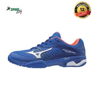 Giày tennis,giày thể thao Mizuno 61GA187027 màu xanh dương đẳng cấp thời thượng chống trơn trượt,cực êm và thoáng khí giúp người chơi thoải mái tuyệt đối thumbnail
