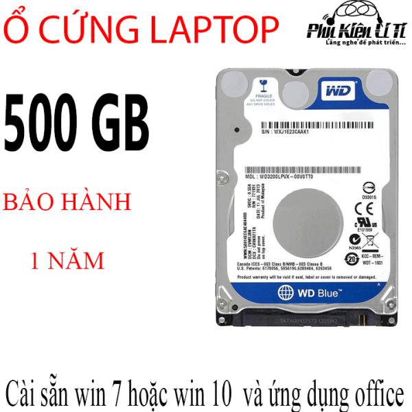 Bảng giá Ổ cứng hdd laptop 2.5 inch WD western 500GB bảo hành 1 năm Phong Vũ