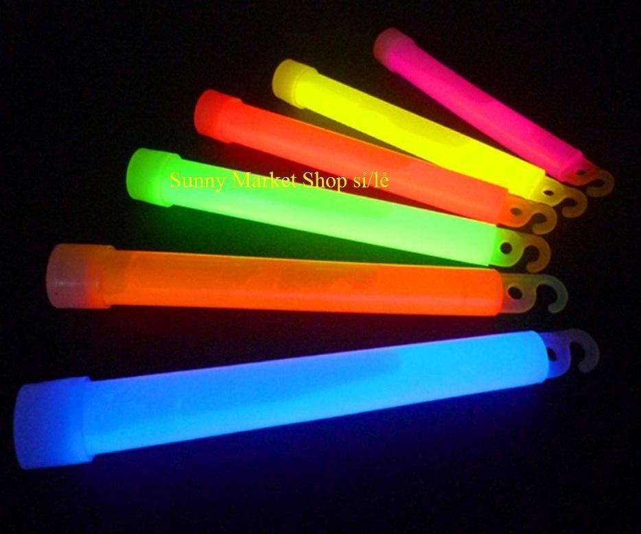 Que phát sáng Sunny loại to đương kính 1.8 cm, dài 1.5 cm phát sáng vào ban đêm hoặc phòng tối (1 Que) - 6