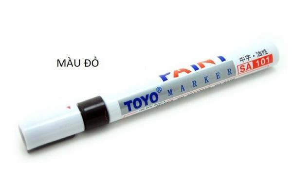 Bút vẽ lốp cho xe trang trí, phong cách ( màu đỏ )