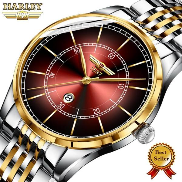 Đồng hồ Nam HARLEY ZANE USA 176 - Dây Thép Đúc Đặc Cao Cấp bán chạy