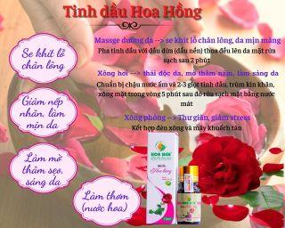 Tinh dầu hoa hồng thumbnail
