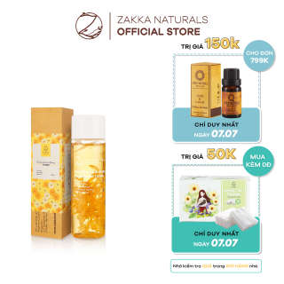 Toner (Nước Cân Bằng) Hoa Cúc Zakka Naturals Dịu Nhẹ Cho Da Nhạy Cảm Calendula & Honey Balancing Toner 150ml thumbnail