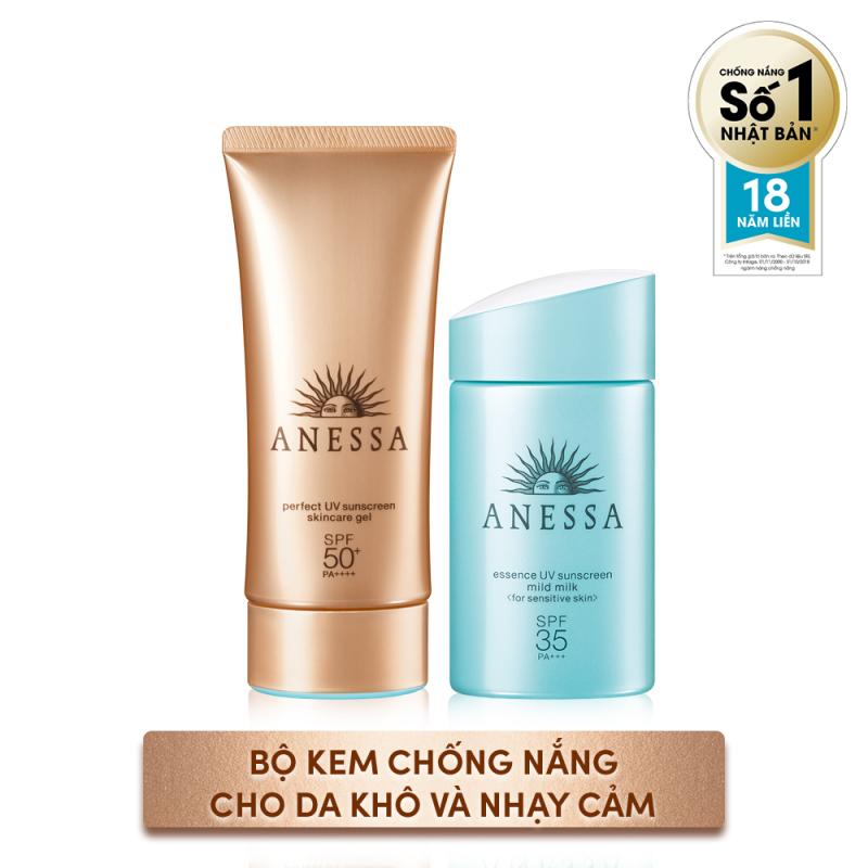 Bộ Kem chống nắng dành cho da khô và nhạy cảm giá rẻ