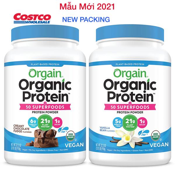 [HCM][Gym / Keto/ Vegan / Low Carb] Bột Đạm Dinh Dưỡng Protein Powder Organic - Orgain Protein Mỹ | Dành cho người ăn kiêng chay giảm cân nhập khẩu