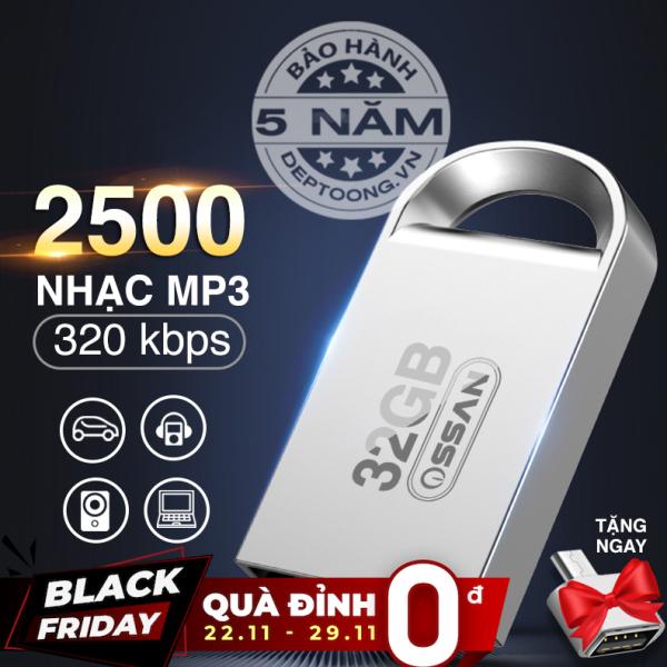 USB 32GB CA NHẠC CHO ÔTÔ CÓ SẴN 2500 BÀI NHẠC MP3 / USB NHẠC TRỮ TÌNH, NHẠC TRẺ, KHÔNG LỜI, ÂU MỸ, NHẠC THEO YÊU CẦU....(TẶNG KÈM  OTG)