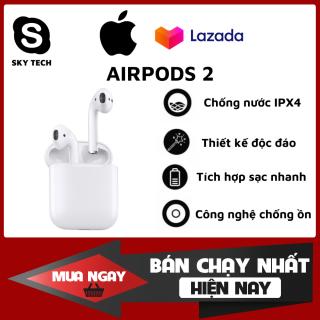 [Like Auth - Nguyên Seal] Tai Nghe Bluetooth AirPods 2 Tai nghe Iphone True Wireless AirPods Thiết Kế Thời Trang, Độc Đáo Sử Dụng Cảm Ứng Đa Điểm Điều Khiển Dễ Dàng Sử Dụng Lên Tới 24h Bảo Hành 1 Năm Lỗi 1 Đổi 1 thumbnail