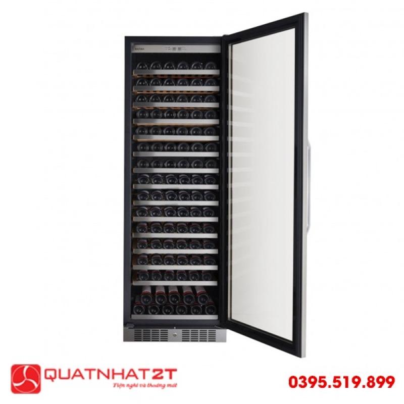 Tủ ướp rượu Kadeka KSJ168EW, 165 chai- Chính Hãng