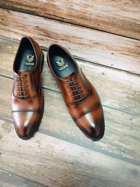 Giày Công Sở Nam Da Bò Nguyên Tấm Bảo Hành 12 Tháng - lazini giá rẻ