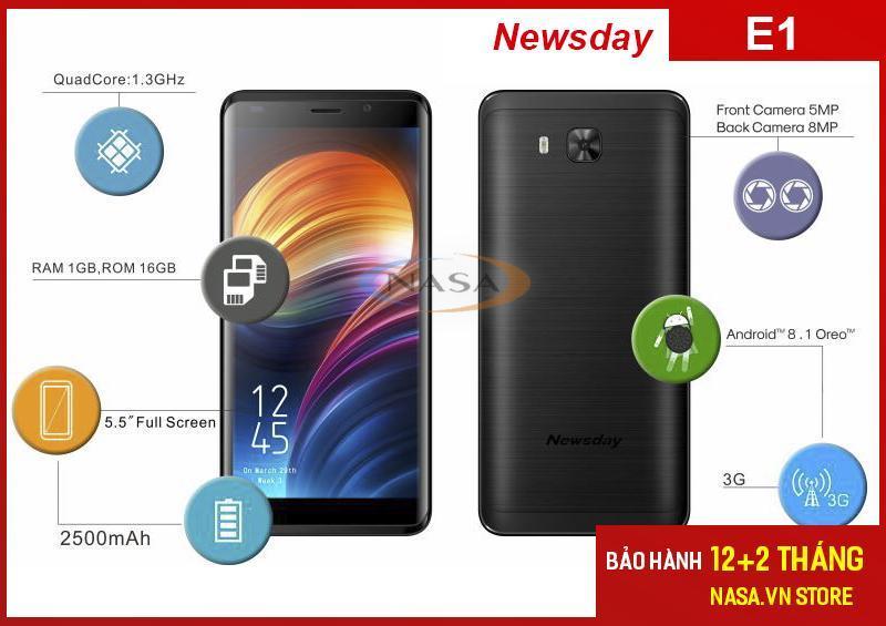 Điện thoại Newsday E1